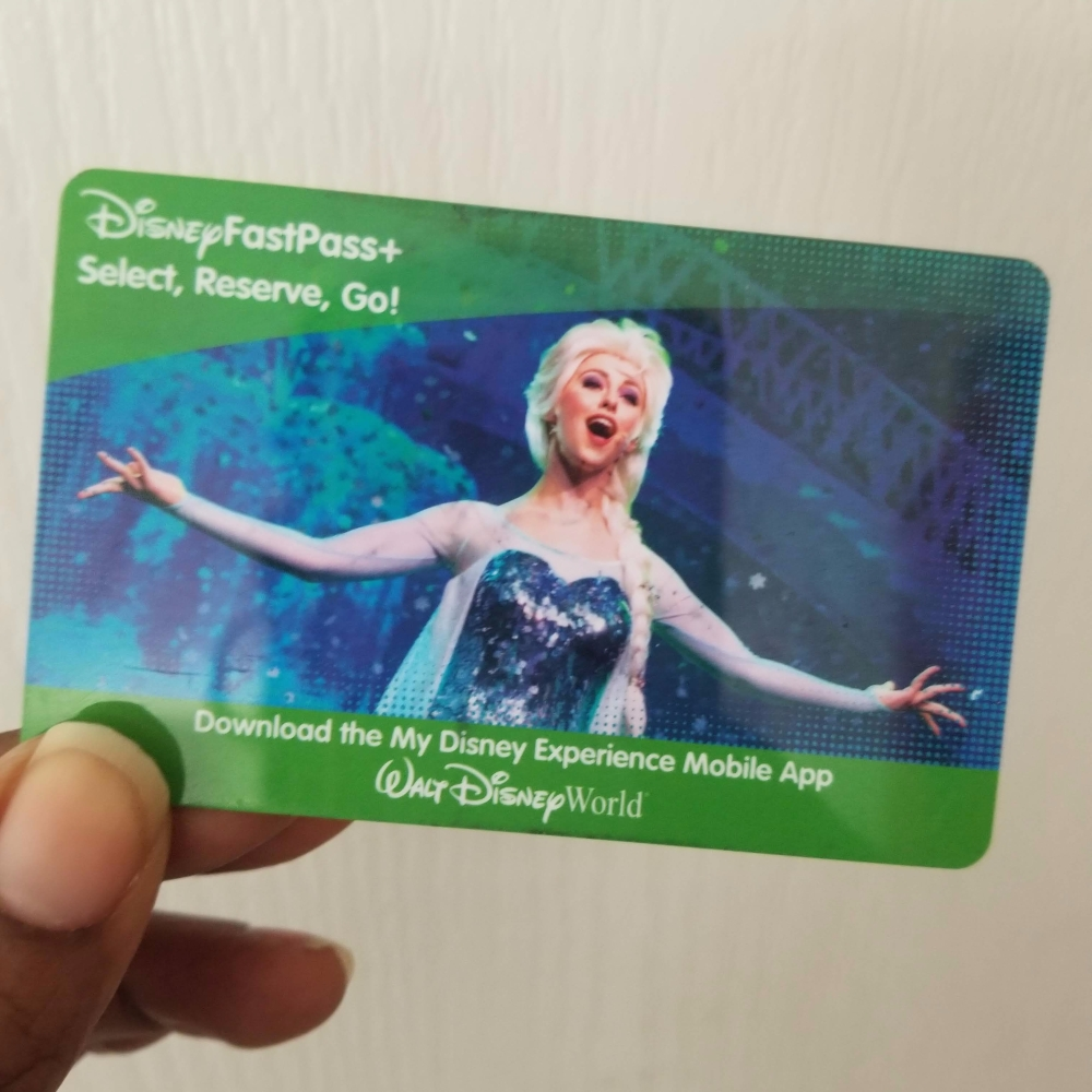 A Disney Theme Park ticket