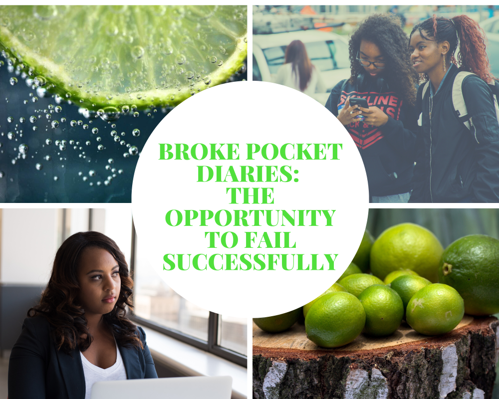 The opportunity to fail successfully